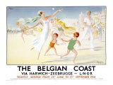 Belgian Coast Giclee Print by Jean Droit