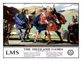 The Highland Games, Giclee Print
