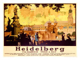 Heidelberg Giclee Print