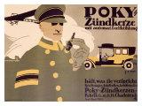 Poky Zundkerze Giclee Print by Hans Rudi Erdt