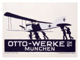 Otto-Werke, Munich Giclee Print by Ludwig Hohlwein