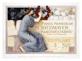 Pianos Harmonium Schiedmayer Giclee Print by Laeuger 