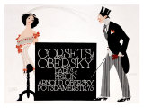 Corsets Obersky Giclee Print by Klinger 