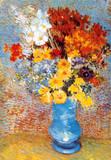 Vase med blomster, ca. 1887 Plakat av Vincent van Gogh