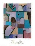 Garten im Orient, c.1937 Print by Paul Klee
