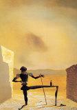 Le spectre de Vermeer van Delft qui peut servir de table, 1934 Art par Salvador Dalí