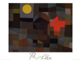 Incendio Sotto la Luna Piena Prints by Paul Klee