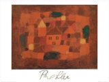 Paesaggio al Tramonto, c.1923 Prints by Paul Klee
