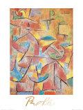Bimba e Zia Obra de arte por Paul Klee