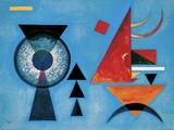Morbido duro Poster di Wassily Kandinsky