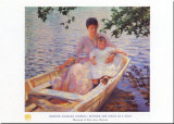 Äiti ja lapsi (Mother and Child) Posters tekijänä Edmund Charles Tarbell