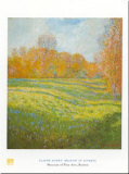 Meadow At Giverny Prints by Claude Monet