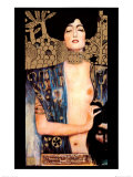 Judith Lminas por Gustav Klimt