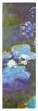 Waterlilines & Agapanthus, 1914-17 (detail) Póster por Claude Monet
