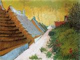 Farmhouses at Saintes-Maries, June 1888 Poster by Vincent van Gogh