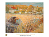 Bridge At Ipswich Print by Theodore M. Wendel