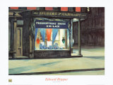 Drug Store Art by Edward Hopper
