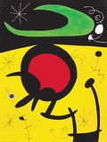 Vuelo De Pajaros Affiches par Joan Mir&#243;