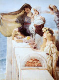 Coign of Vantage, c.1895 Posters by Sir Lawrence Alma-Tadema