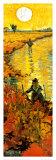 Weingarten In Arles (detail) Lámina por Vincent van Gogh