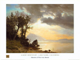 Lake Tahoe, California, 1867 Posters by Albert Bierstadt