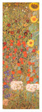 II Giardino di Campagna (detail) Posters van Gustav Klimt