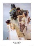 At Aphrodite's Cradle Posters by Sir Lawrence Alma-Tadema