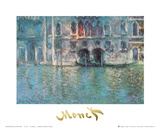 II Palazzo da Mula a Venezia Posters by Claude Monet