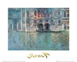 II Palazzo da Mula a Venezia Posters by Claude Monet