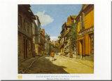 Rue De La Bavolle Posters by Claude Monet