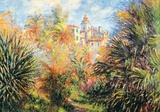 Jardin de Bordighera Plakat av Claude Monet