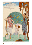 La Terre Prints by Georges Barbier