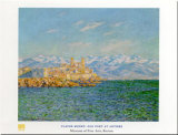 Old Fort At Antibes Prints by Claude Monet