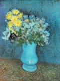 Vase of Lilacs, Daisies and Anemones, c.1887 Plakater af Vincent van Gogh