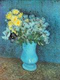 Vase of Lilacs, Daisies and Anemones, c.1887 Kunst von Vincent van Gogh