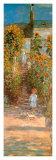 Der Garten Monets in Vétheuil Kunstdrucke von Claude Monet