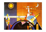 La Grande Piazza a Kiev Print by Wassily Kandinsky