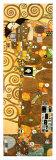L'Accomplissement, frise dans l'hôtel Stoclet|Fulfillment, Stoclet Frieze, vers 1909 (détail) Affiches par Gustav Klimt