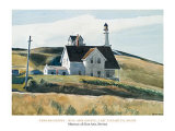 Hill And House, Cape Elizabeth, Maine; 1927 Art by Edward Hopper