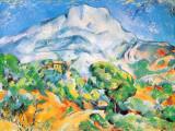 La Montagne St. Victoire Affiches par Paul Cézanne
