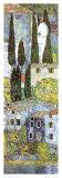 Gustav Klimt - Chiesa a Cassone (detail) Plakát