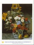 Mixed Flowers Prints by Pierre-Auguste Renoir