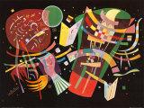Asetelma X, n.1939 Julisteet tekijänä Wassily Kandinsky