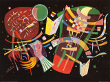 Komposition X, c.1939 Prints by Wassily Kandinsky