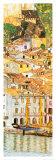 Malcesina a orillas del lago de Garda Lámina por Gustav Klimt