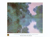 Morning On Seine Prints by Claude Monet