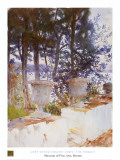Corfu: The Terrace Poster by John Singer Sargent