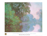 Morning On Seine Poster by Claude Monet