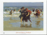At The Seaside Prints by Edward Henry Potthast