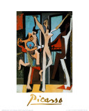 Three Dancers, c.1925 Prints by Pablo Picasso